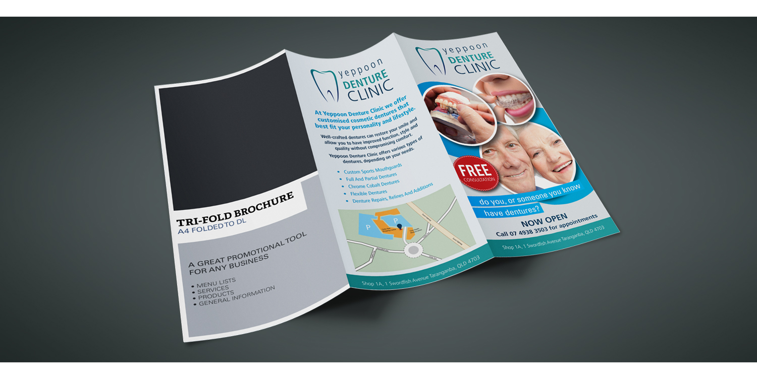 A4 to DL Brochures, Great Promotional Tool